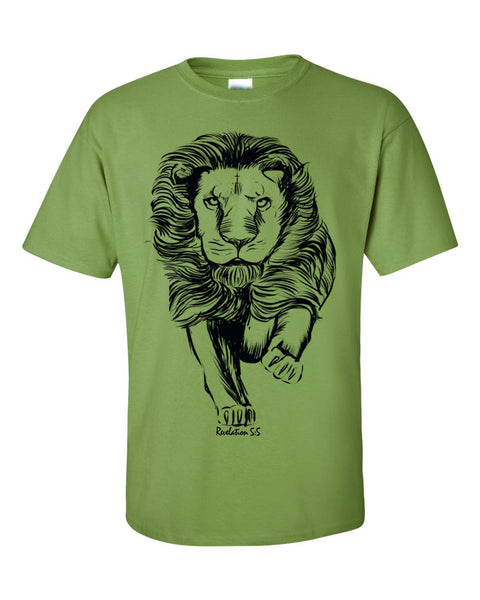 Lion of Judah Men's Christian T-Shirt