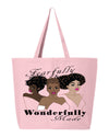 Fearfully & Wonderfully Made 2 Jumbo Tote