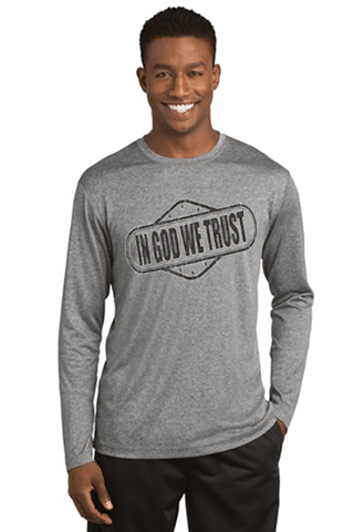 In God We Trust Men's Christian T-Shirt - S / Vintage Heather - Christian T-Shirt | Christian Gifts | Christian Apparel - 1