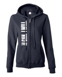 I Can. I Will. (Philippians 4:13)  Women's Full-Zip Hooded Sweatshirt