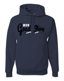 His Good Thing Since....Custom Ladies Hoodie - Small / Navy - Christian T-Shirt | Christian Gifts | Christian Apparel - 10