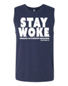 Stay Woke (Working on Kingdom Endeavors) Men's Muscle Tank