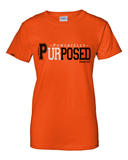 Powerfully Purposed Classic Fit Women's Tee - Small / Orange - Christian T-Shirt | Christian Gifts | Christian Apparel - 2