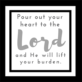 Pour Out Your Heart Scripture Printable