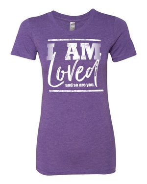 We Are Loved Triblend Crew Neck
