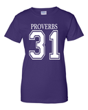 Proverbs 31Classic Fit Crew Neck Tee *Ships Same Day* - Small / Purple - Christian T-Shirt | Christian Gifts | Christian Apparel - 3