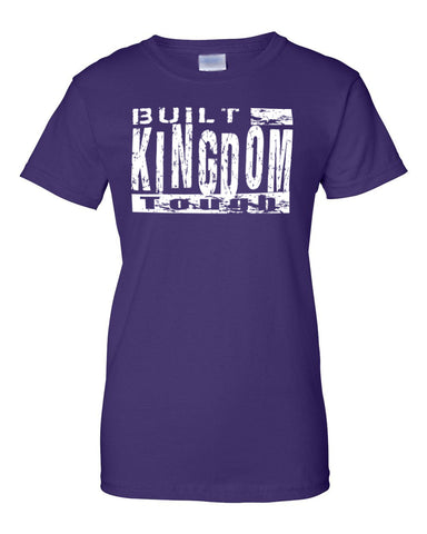 Built Kingdom Tough Ladies Crew Neck Tee