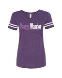 Prayer Warrior V-Neck Tee