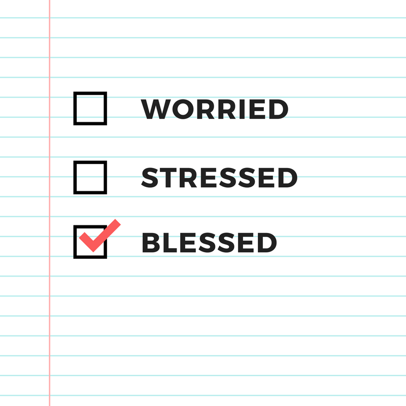 Not Worried or Stressed Scripture Printable