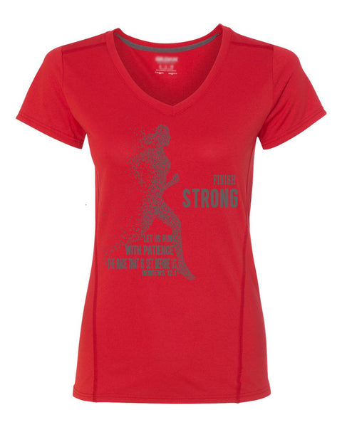 Finish Strong Performance Tee