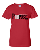 Powerfully Purposed Classic Fit Women's Tee - Small / Red - Christian T-Shirt | Christian Gifts | Christian Apparel - 3