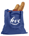 Created in the image of Love Tote Bag