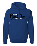 His Good Thing Since....Custom Ladies Hoodie - Small / Royal - Christian T-Shirt | Christian Gifts | Christian Apparel - 5