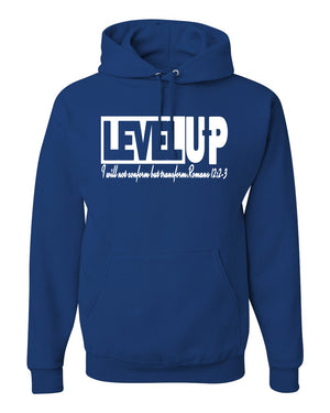 Level Up Men Hooded Sweatshirt