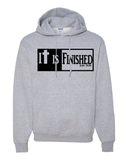 It is Finished Hooded Sweatshirt - Small / Sport Grey - Christian T-Shirt | Christian Gifts | Christian Apparel - 5