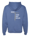 He's Always Watching My Back Hooded Sweatshirt -  - Christian T-Shirt | Christian Gifts | Christian Apparel - 16