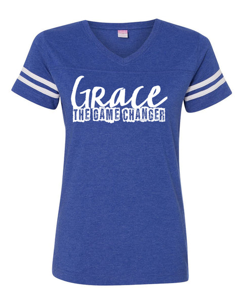Grace The Game Changer Football Jersey