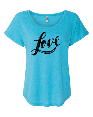Created in the Image of Love Triblend Dolman