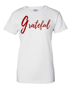 Grateful Ladies Classic Fit Crew Neck Tee