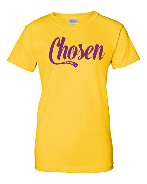 Chosen Ladies Classic Fit Crew Neck Tee