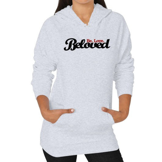 Beloved.Be.Love. Women's Hoodie - Small / Sport Grey - Christian T-Shirt | Christian Gifts | Christian Apparel - 1