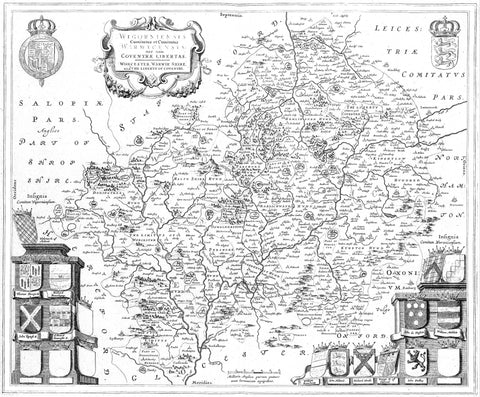 Archived Maps of England