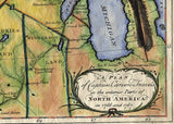 027 Carver Map of one Early route to the Northwest passage 1781