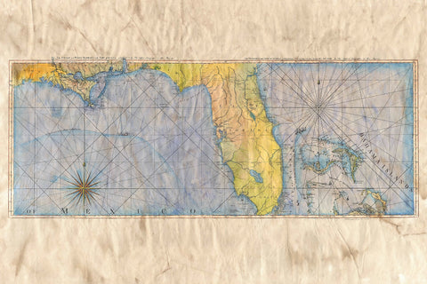 Mysterious Florida Map