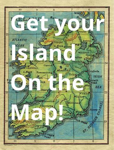 Get your Island on the map!