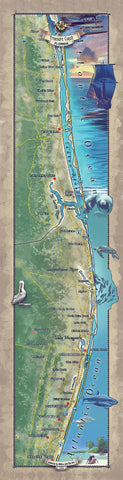 218 Custom map of the Treasure Coast