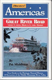 Discover! America's Great River Road 4 Volume gift set + Father of Water Map Gift Bundle