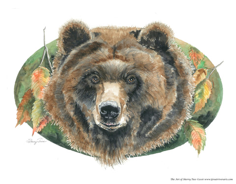 The Art of Sherry Tuss: Grizzly Bear