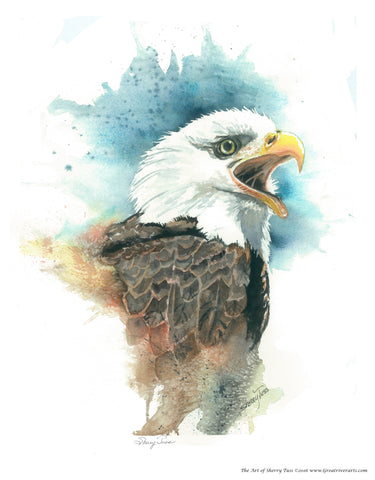 The Art of Sherry Tuss: Bald Eagle