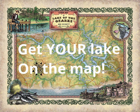 Lake Map Designs
