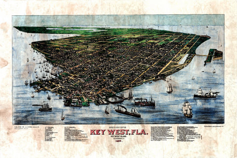 063 Key West Florida 1884