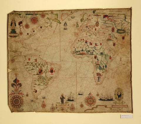Educational Map Series: Portolan Chart of Africa
