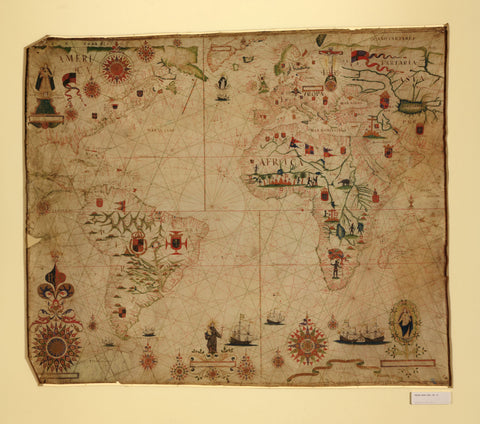 Educational Map Series: Portolan chart of the Mediterranean and connecting seas (Map B)