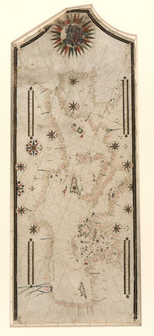 Educational Map Series: Portolan chart of the Mediterranean and connecting seas (Map A)