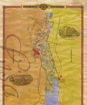 010 A new map of Lake Pepin 2014 By Lisa Middleton