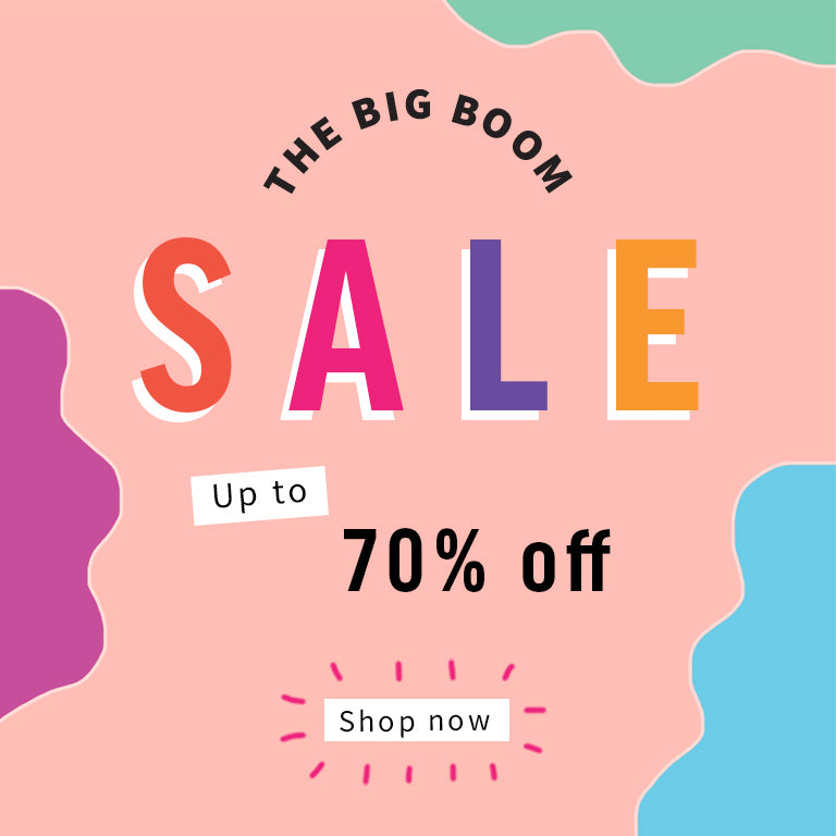THE BIG BOOM SALE!