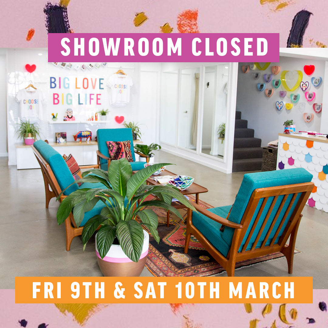 Showroom Closed 9th & 10th March!