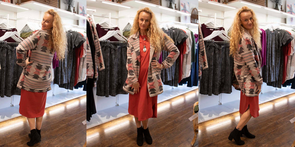 Lindsey Jacket and lulu Dress