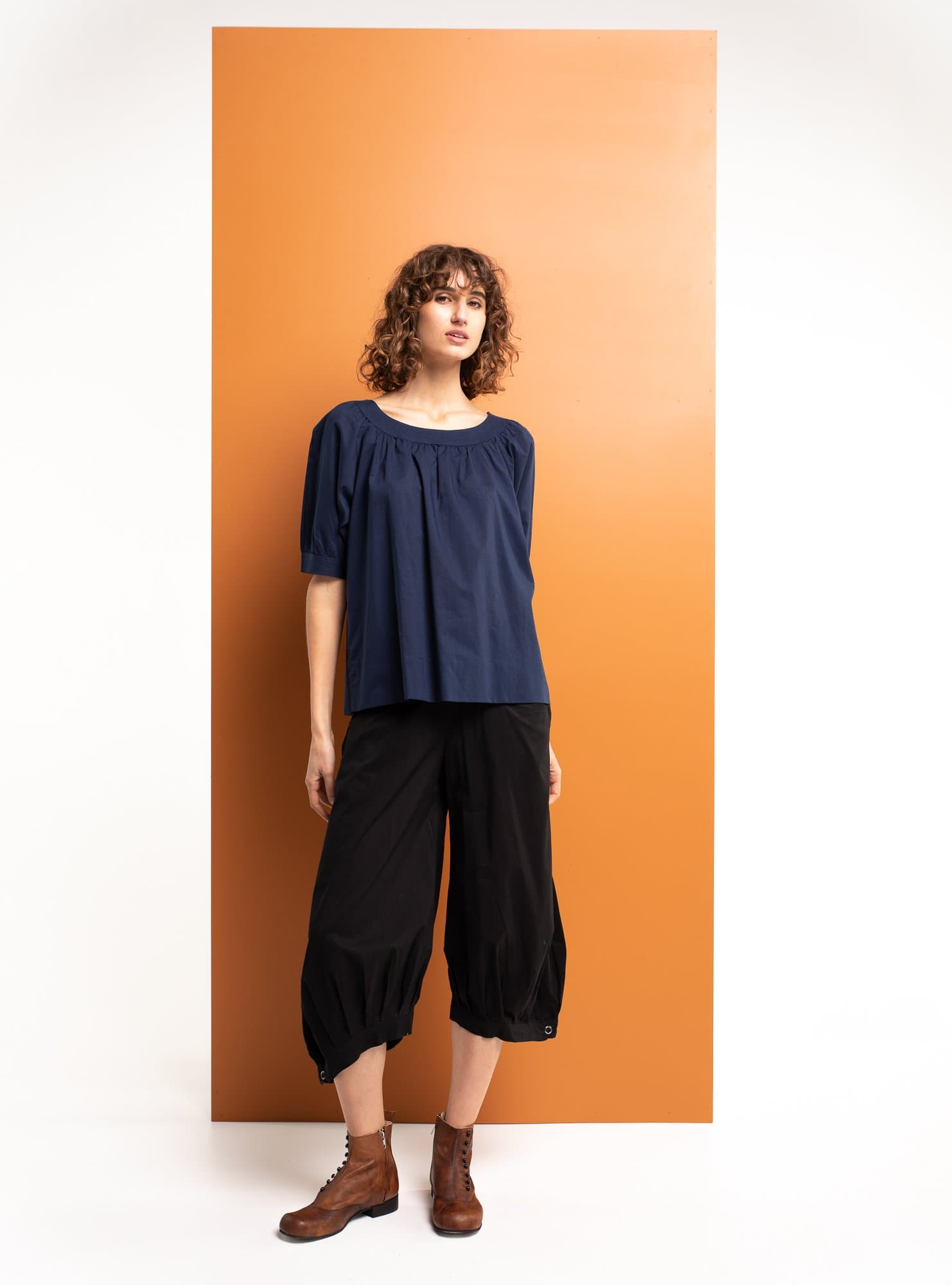 Bliss Top Basic - Navy