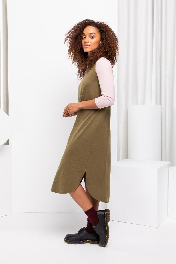 Atlantic Dress - Sage Block