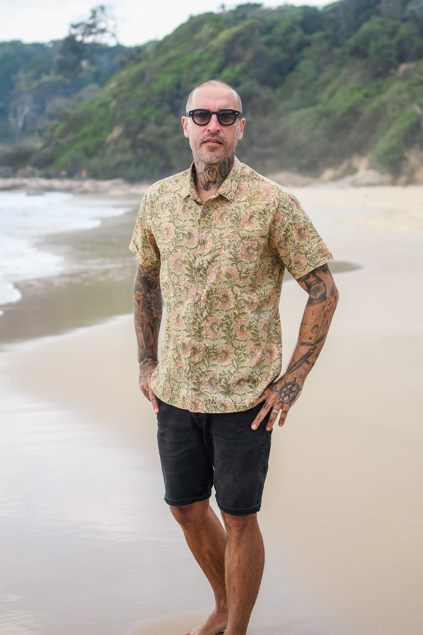 Men's Short Sleeve - Tropical