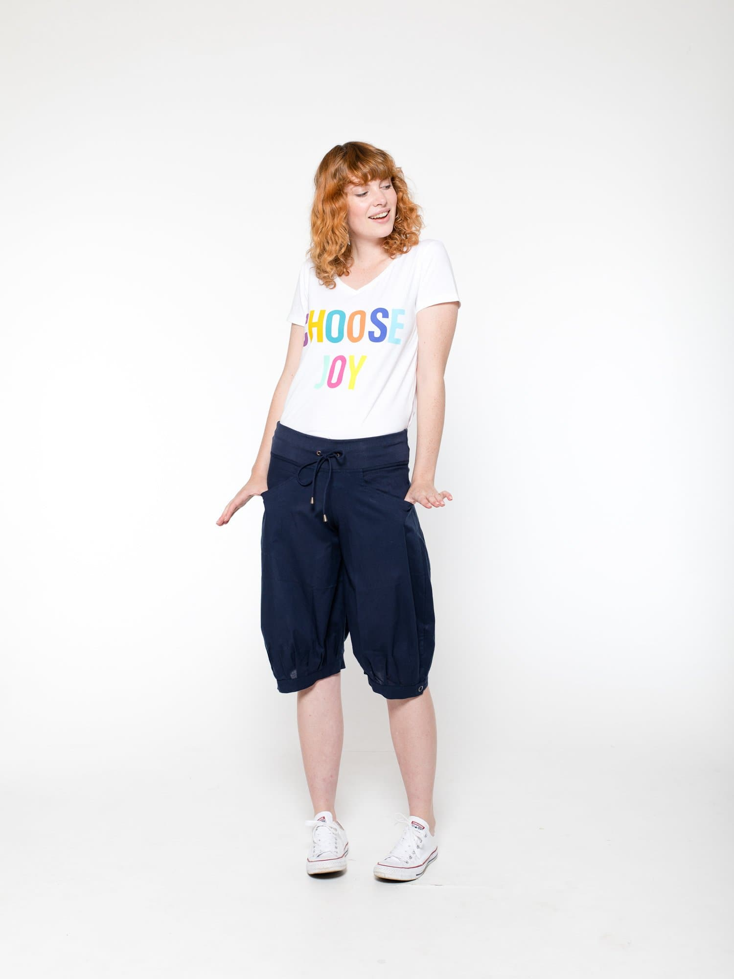 Jada Short Basic - Navy