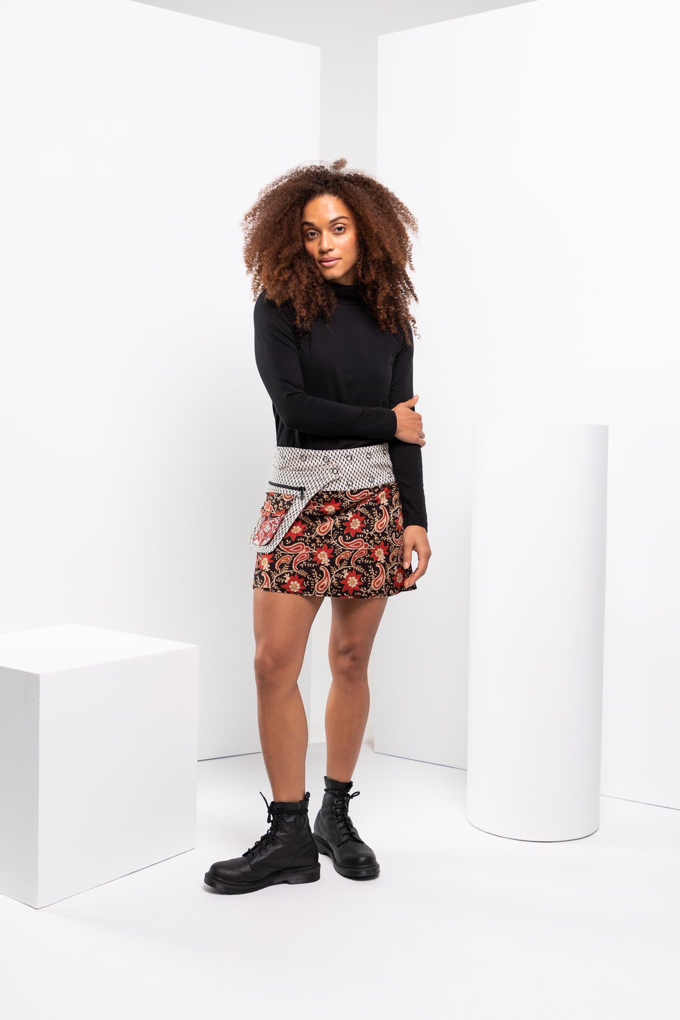 Rosanna Skirt Short - Queens