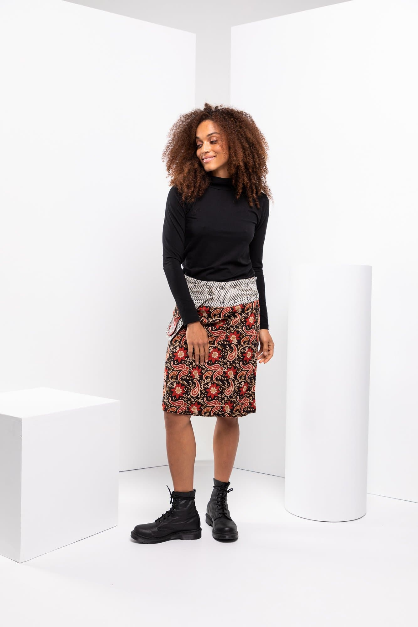 Rosanna Skirt Long - Queens