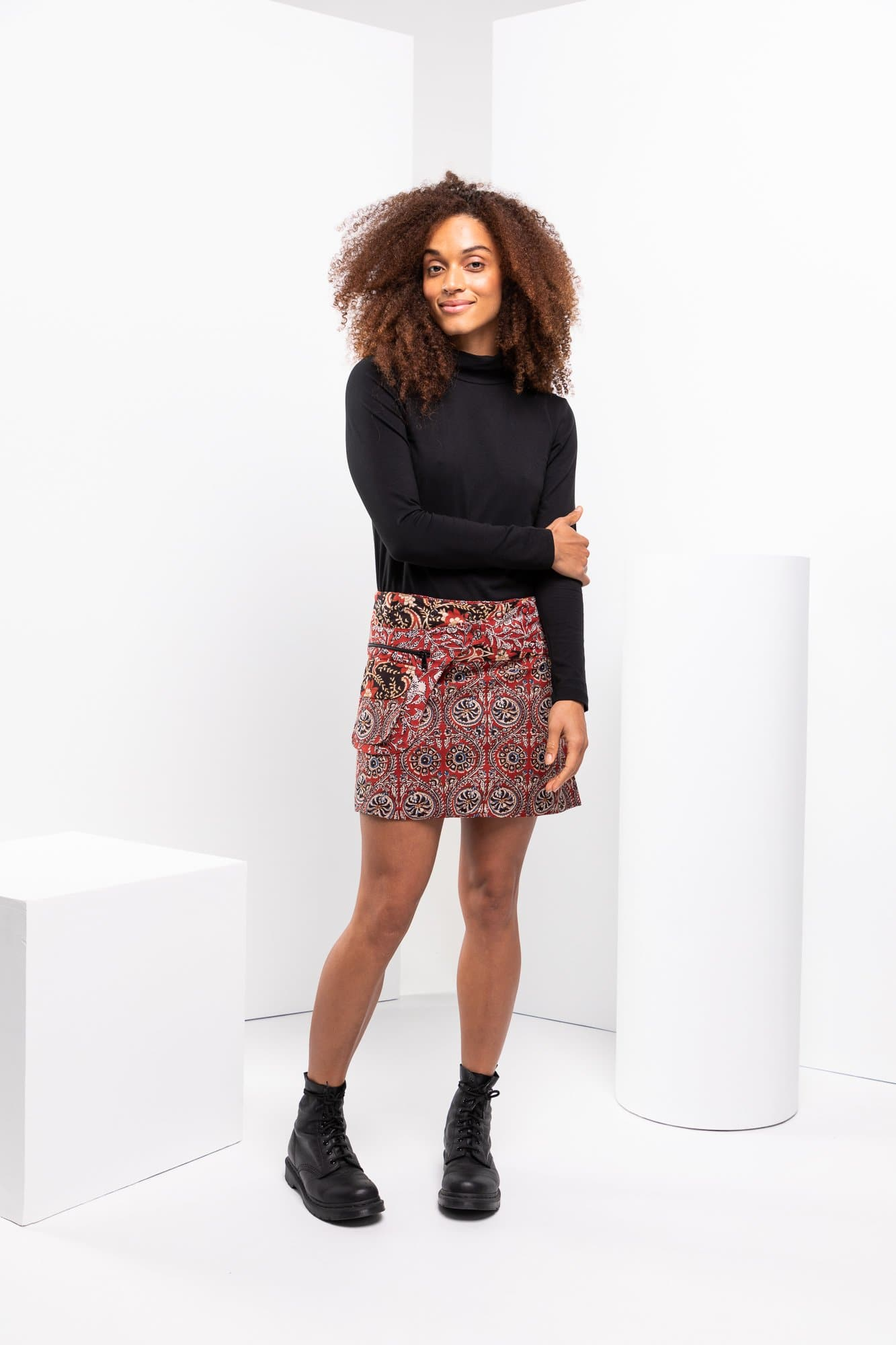 Rosanna Skirt Short - Windsor