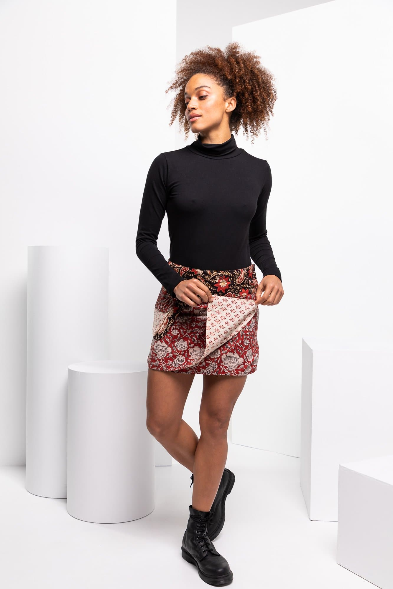 Rosanna Skirt Short - Brooklyn
